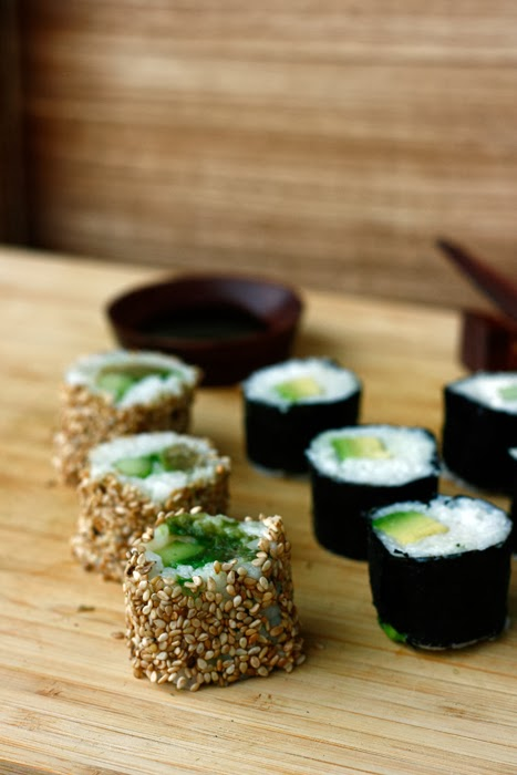 Sushi California Maki Avocado Maki Transglobal Pan Party