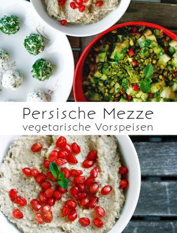 Persische Mezze (vegetarisch)