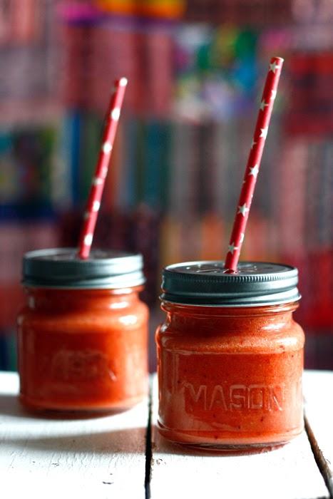 Erdbeer-Mango-Smoothie