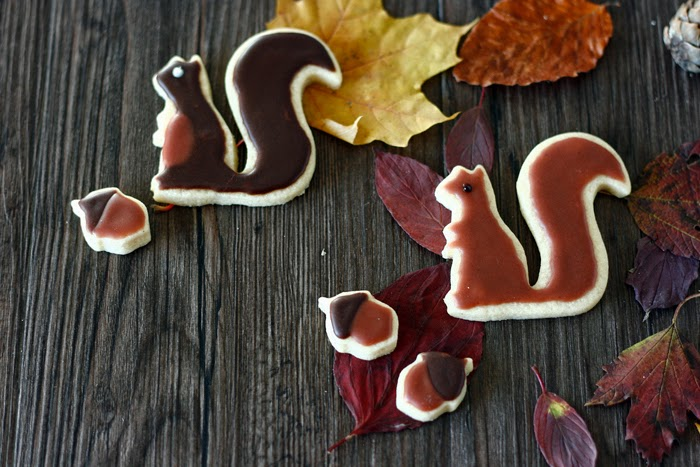 Eichhörnchen Kekse