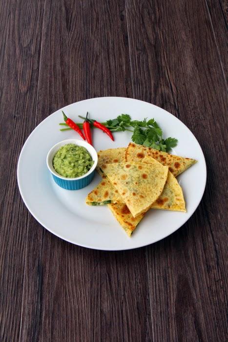 Quesadillas - schnelles Mittagessen für Kinder