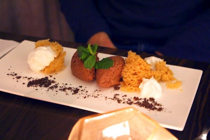 Mousse au chocolate Cortiina Bar