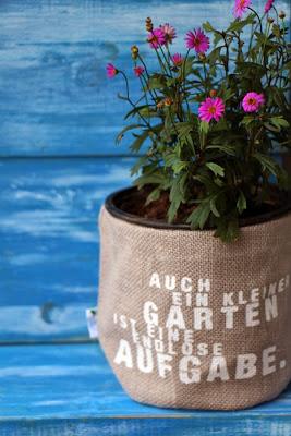 Räder Blumentasche Garten