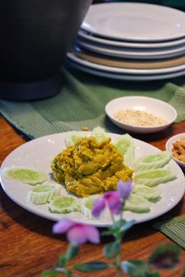Kochkurs in Bangkok - Pumpkin Hummus