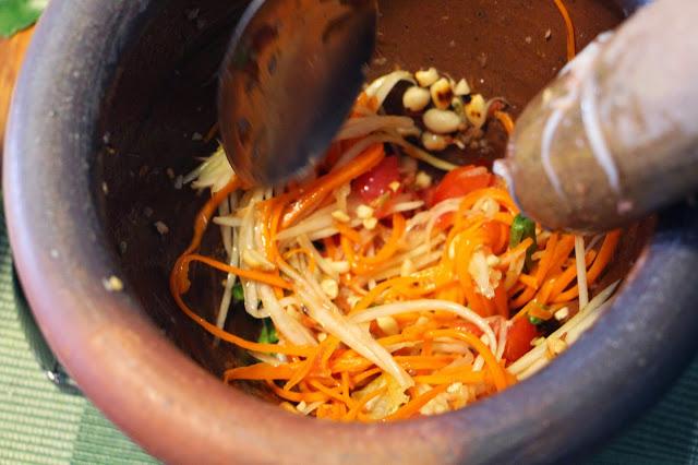 Kochkurs Bangkok - Som Tam