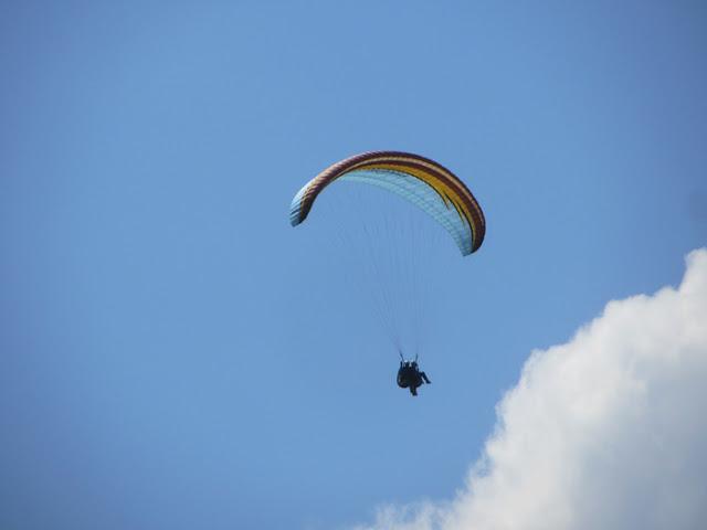 Gleitschirm Landung
