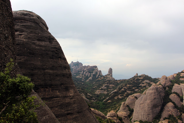 Gebirge Montserrat