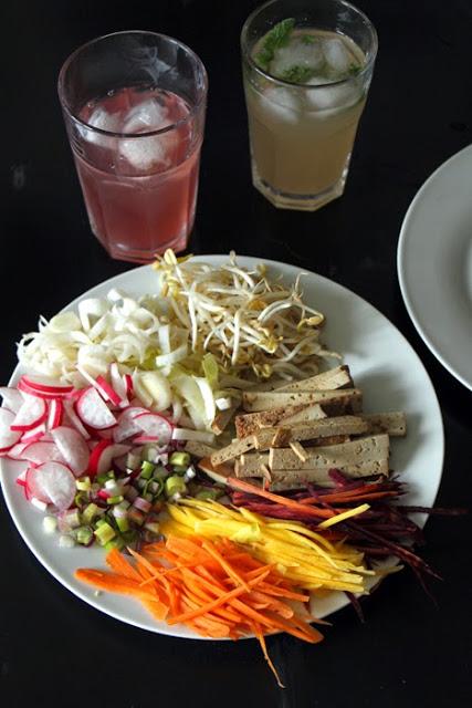 Vegane Ernährung - viel trinken
