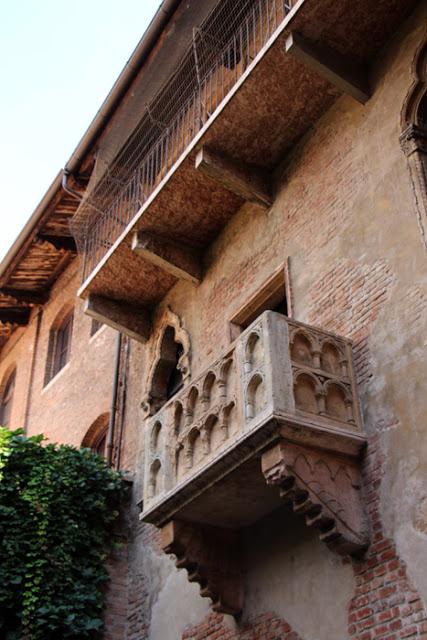 Romeo & Julia - Balkon in Verona