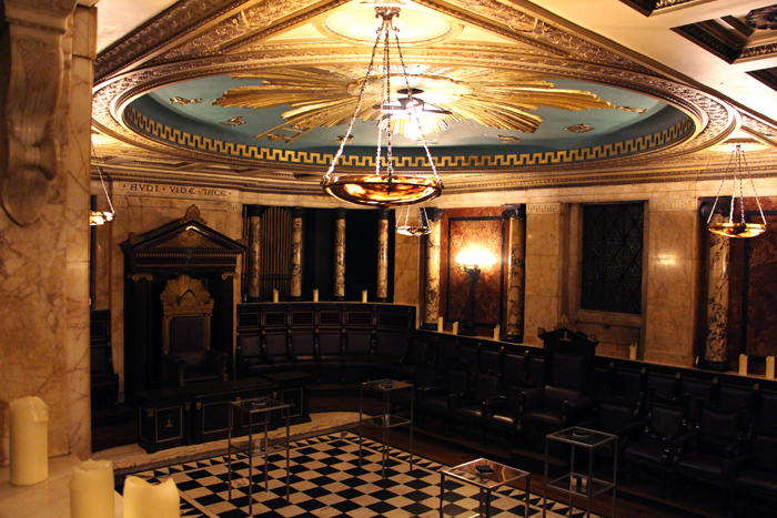Masonic Lodge Andaz Liverpool Street