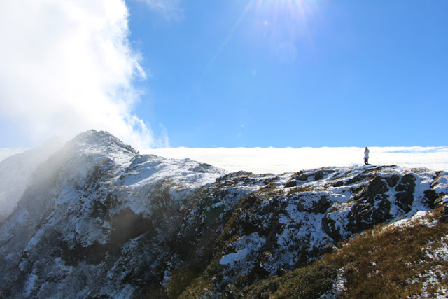 Reiteralm Höhenweg Bergkamm
