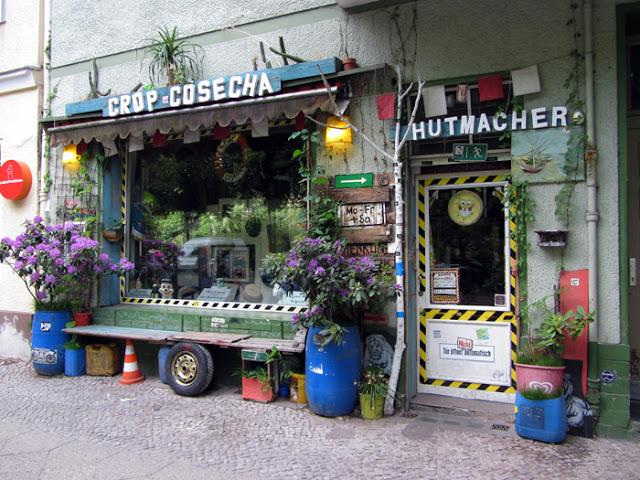 Hutmacher Laden in Berlin Neukölln