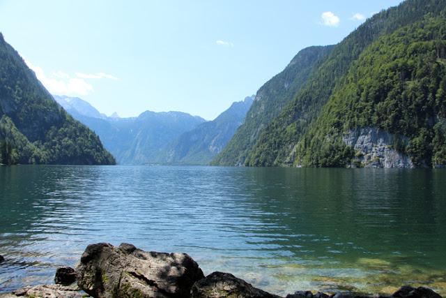 Königssee in Bayern bei Berchtesgaden