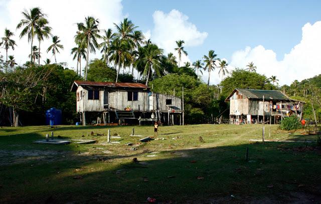 Maliangin Island bei Borneo, Malaysia