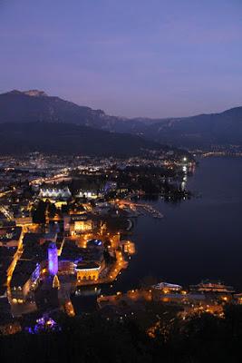Blick von der Festung Riva del Garda