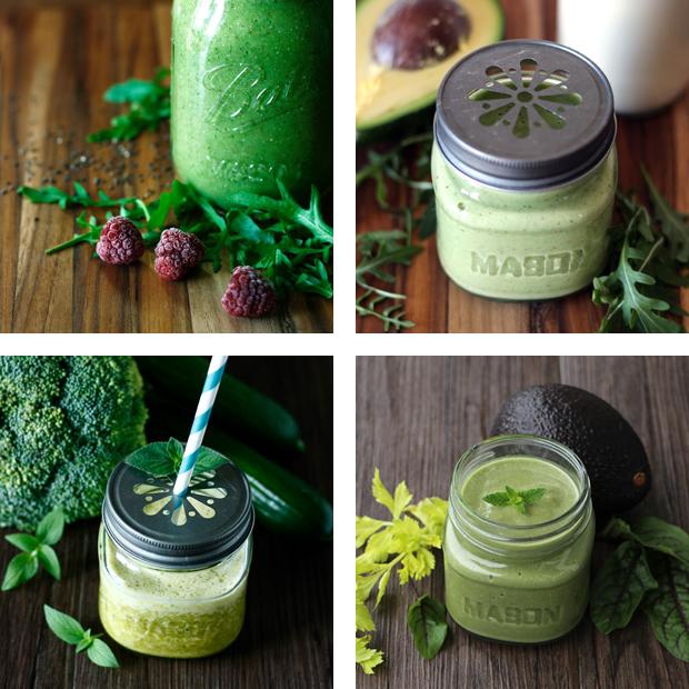 Grüne Smoothies - Detox Lebensmittel