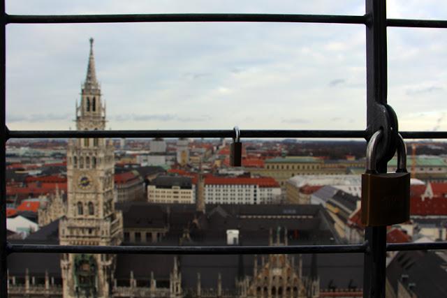 München - Blick vom Alten Peter