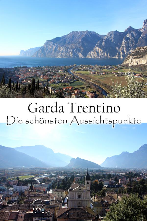 Die schönsten Aussichtspunkte am Gardasee - Garda Trentino