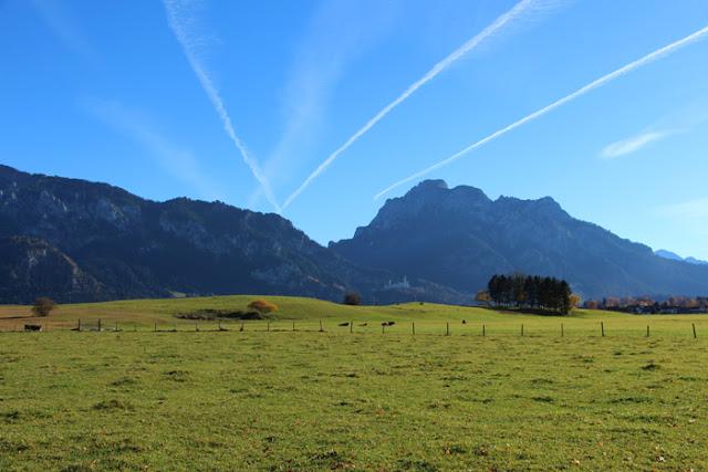 Umland vom Schloss Neuschwanstein