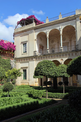 Garten Casa de Pilatos in Sevilla