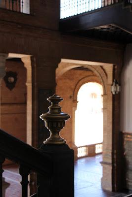Säulen am Plaza de Espana, Sevilla
