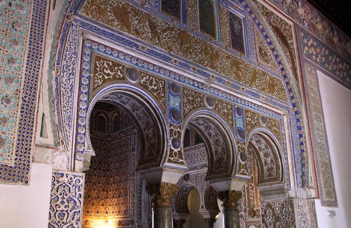 Königspalast Real Alcazar in Sevilla
