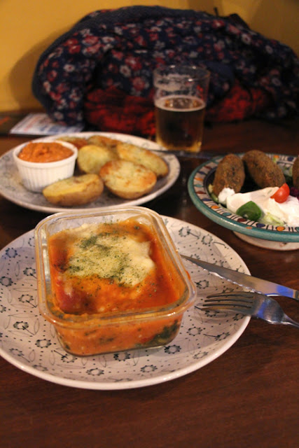 Tapas im vegetarischen Restaurant El paladar in Sevilla