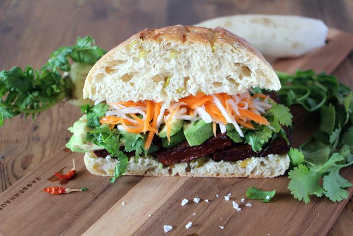 Banh Mi - Vegetarisches Sandwich aus Vietnam