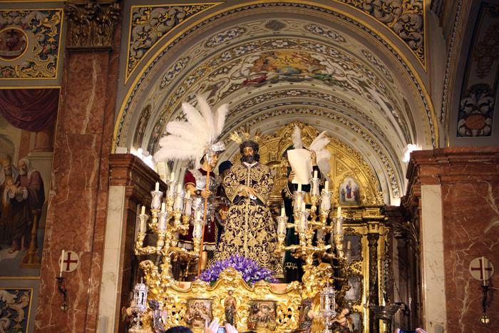 Paso Jesus in Sevilla