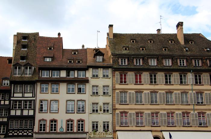 Fachwerkhäuser in Strasbourg