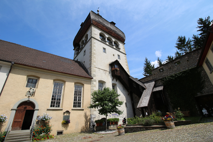 Bregenz: Martinsturm in der Oberstadt