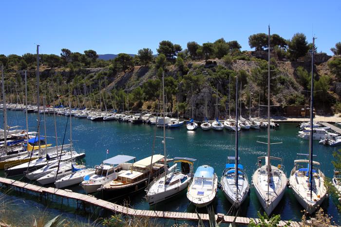 Hafen Port Miou