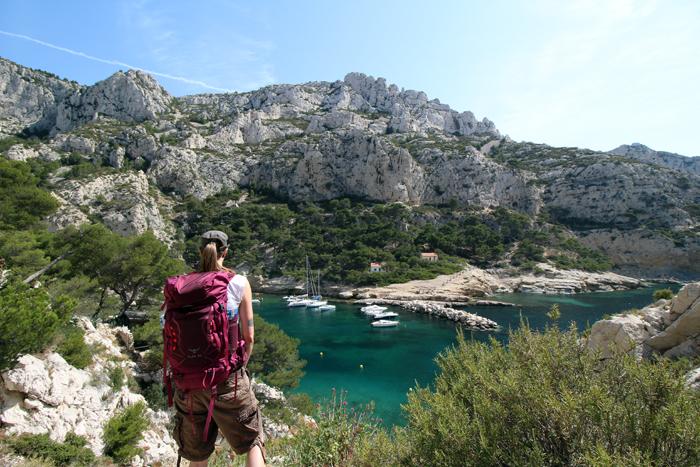 Osprey Kyte 36 - Wanderung in den Calanques bei Marseille