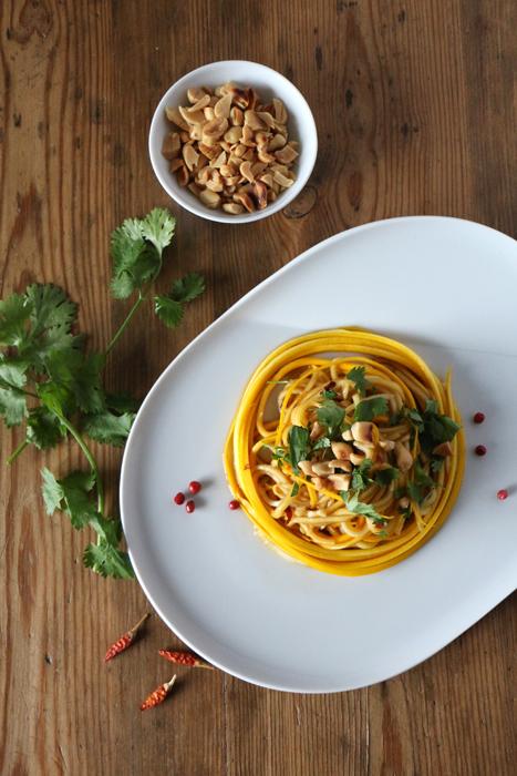 Thai Zucchini Salat
