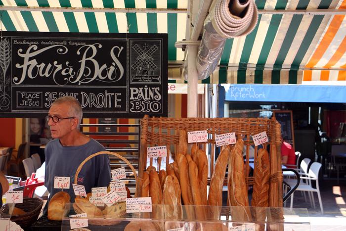 Four a Bois - Gemüsemarkt Nizza
