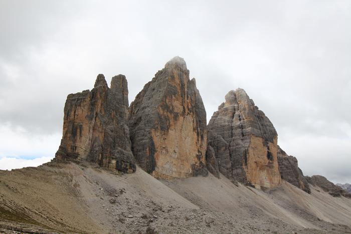 Drei Zinnen in Südtirol