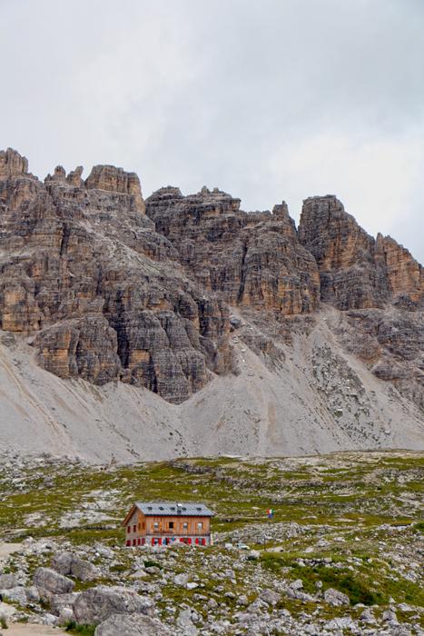 Lavaredo-Hütte, Drei Zinnen Naturpark