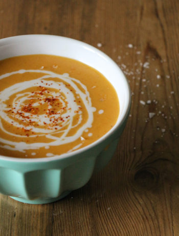 Linsen Süsskartoffel Suppe