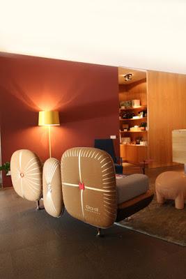 Lobby im Designhotel Muchele