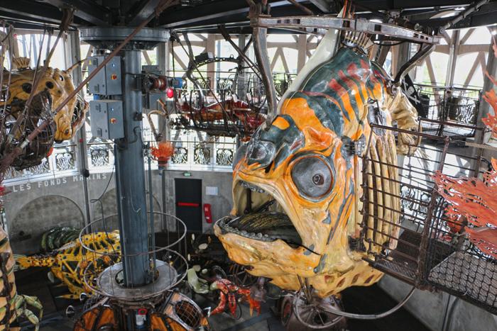 Karussell der Unterwasserwelten, Jules Vernes, Les Machines - Nantes