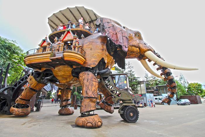 Grand Elephant, Les Machines, Nantes