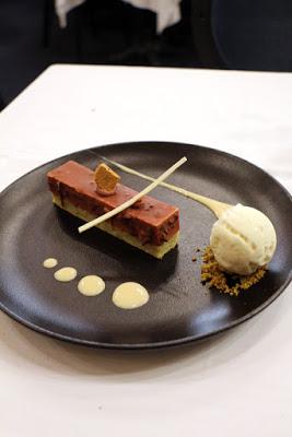 Dessert im La Cigale in Nantes