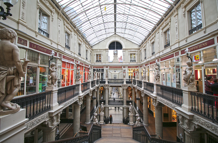 Passage Pommeraye in Nantes