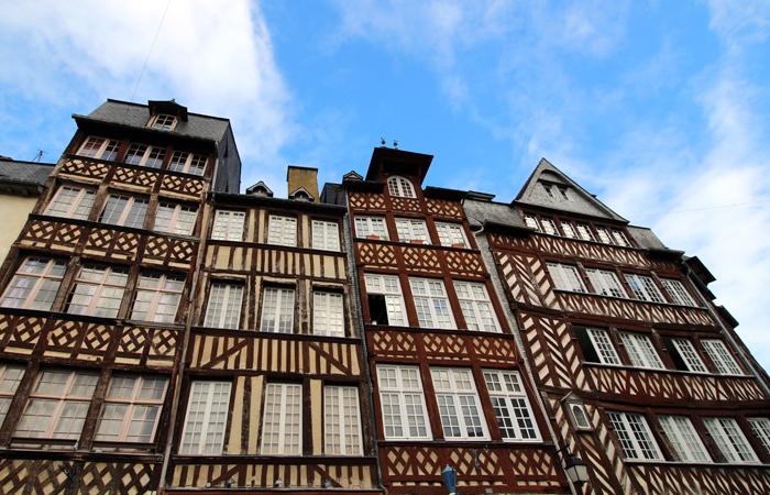 Fachwerkhäuser Rennes