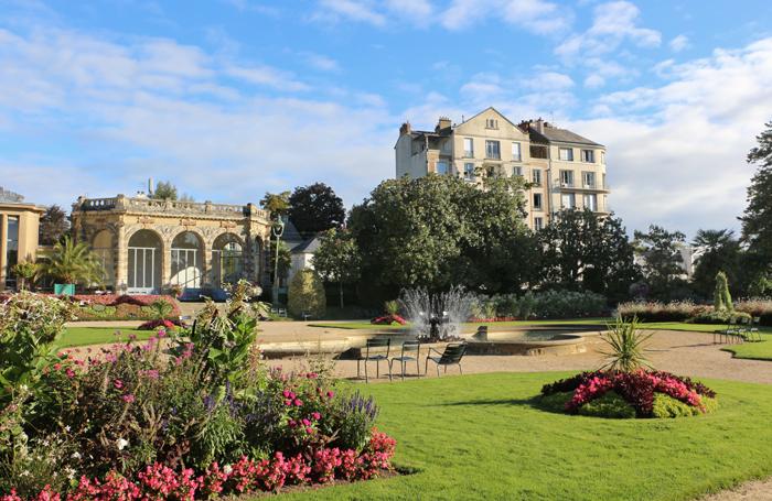 Jardin du Thabor in Rennes
