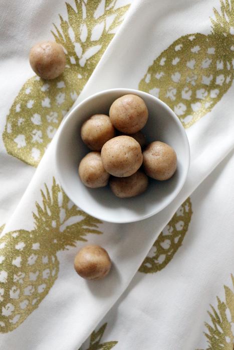Selbstgemachte Marzipankartoffeln