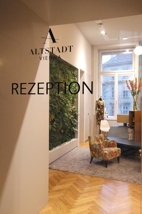 Hotel Altstadt Vienna Rezeption