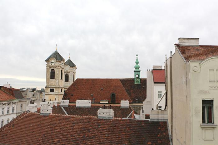Hotel Altstadt Vienna Ausblick
