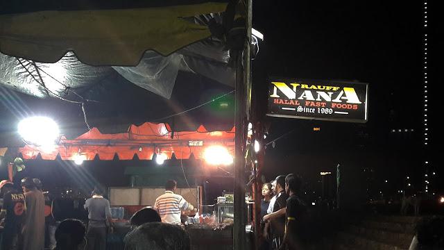 Street Food im Nanas, Colombo Fort