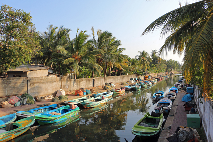 Kanal in Negombo, Sri Lanka
